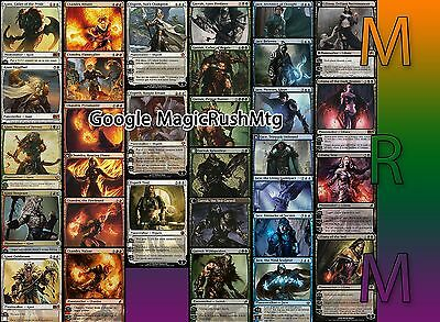 Planeswalker Ajani Elspeth Jace Liliana Chandra Garruk Multilangue MTG Magic