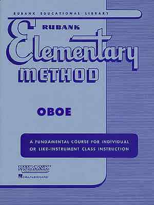 Rubank Elementary Method For Oboe Instructional Band Music Book Brand New Sale!!