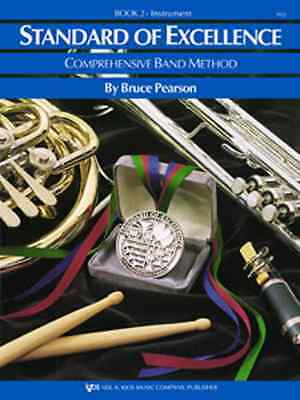 """Kjos """"Standard Of Excellence"""" Tenor Saxophone Music Book 2 Brand New Sax On Sale"""