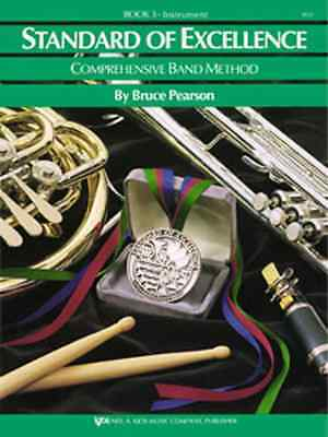 """Kjos """"Standard Of Excellence"""" Tenor Saxophone Music Book 3 Brand New Sax On Sale"""