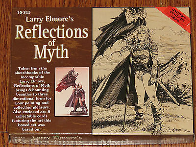 Ral Partha Larry Elmore's Reflections of Myth 9 Piece Miniature Figures Set NIB