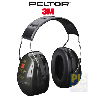 3M Peltor Optime II 2 headband ear defender H520A-407-GQ ear muffs ii