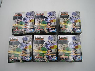 Hunter x Hunter Diorama Box Collection 01 Gashapon Figure Full Set MegaHouse