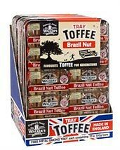 Walkers Andy Pack Liquorice Toffee Tray 10 X 100G Bars Retro Sweets - Nonsuch