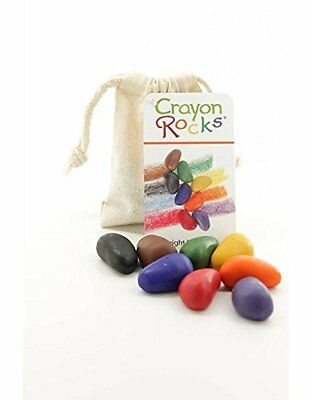 Crayon Rocks 8 Colours in a Muslin Bag