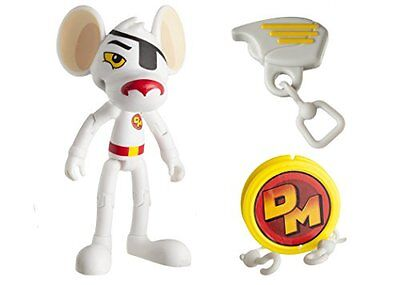 """Danger Mouse 11161 3-Inch """"Danger Mouse"""" Figure with """"Zipline"""" Accessory"""