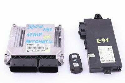BMW 1 3 Series E81 E87N E90 E91 N47 ECU KIT DDE+CAS 3 + KEY control unit 7809000