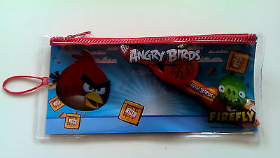 Childrens Angry Birds Firefly Dental Travel Kit Toothbrush Cap And Case