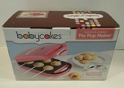 Babycakes Pink Electric Pie Pop Maker #PM-100HS - NEW!!!