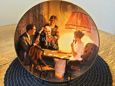 This is The Room That Light Made Norman Rockwell Collector Plate Series Knowles