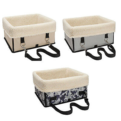 Waterproof Pet Car Seat Carrier Car Booster Seat for Small Dogs Cats BF