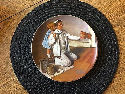The Painter Norman Rockwell Knowles Collectors Plate Heritage 7 1983 Sailor