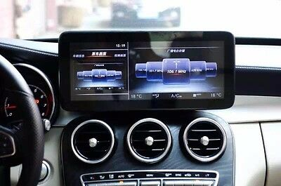 Benz W205 C-Class Glc-Class 12 Inch Monitor With Navi & Input Rear View Camera