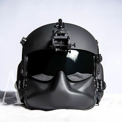 EVI Replica 1/1 HGU-56/P Rotary Wing Aircrew Dummy Helmet for Cosplay Type A Set