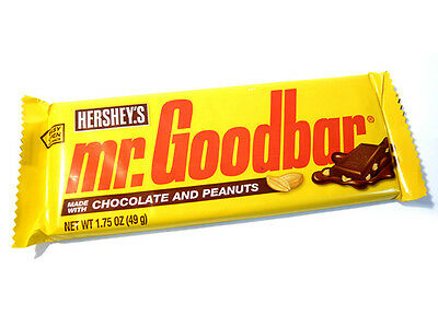 Mr Goodbar Hershey's Chocolate and Peanuts Bar - Made From USA - Brand New!