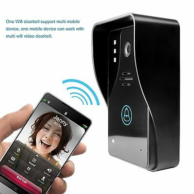 Home Security Rainproof Wireless WiFi Smartphone Remote Video Camera Doorbell HK