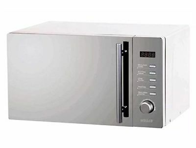 Wellco Combination Microwave Oven With Grill Auto ReHeat/Cook Settings 20 Litre