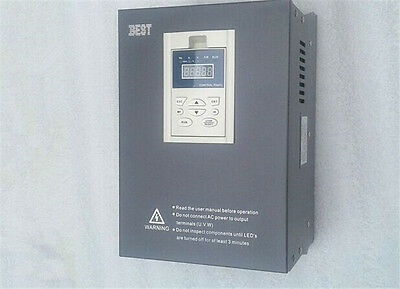 7.5kw 10HP 1000HZ VFD Inverter Frequency converter 1ph 220v to 3ph 0-220v 33A