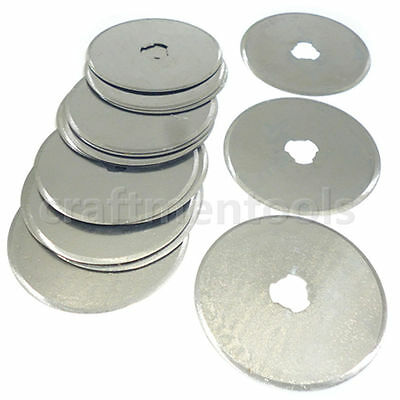 5/10/20pcs 45mm Rotary Cutter Spare Blade Quilters Sewing Fabric Leather Craft