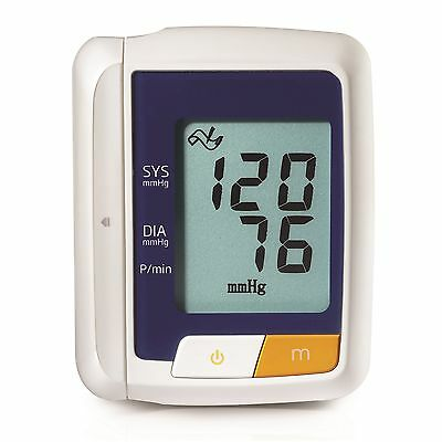 Digital LCD Electronic Pulse / Blood Pressure Monitor - Wrist Model