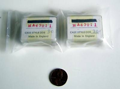 MICROWAVE ASSOCIATES VINTAGE PIN DIODE #MA47011 (Qty.2)