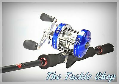 "5'9"" 1pc Catalyst Baitcast Combo- CC40 3BB Baitcast Reel + Federation 180 Rod"