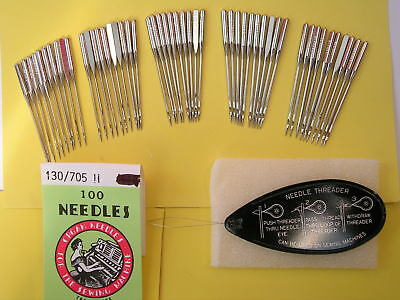 50 Mixed Sewing Machine Needles Fits Toyota/janome/silver/brother/singer/elna