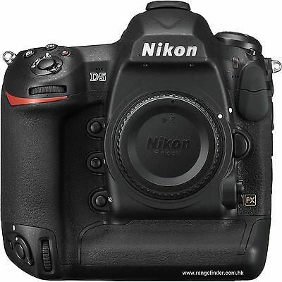 Brand New Nikon D5 DSLR Digital Camera Body (Dual CF Slots)