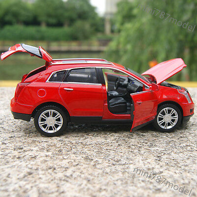 Cadillac SRX SUV 1:32 Model Cars Sound&Light Alloy Diecast Red Collections&Gifts