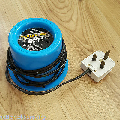 Scalextric Classic Power Pack Supply C919 Transformer - Blue Round Type 13.5V
