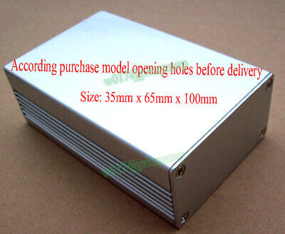 Aluminum Shell Enclosure 35x65x100mm For Micro Mountaineer Transmitter Receiver