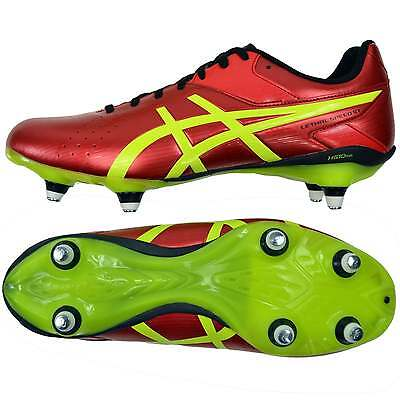 Asics Gel Lethal Speed ST 6 Stud Rugby Boots - Chinese red