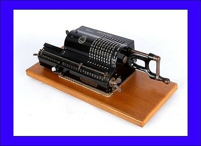 Antique Brunsviga A Calculator in Good Working Order. Germany, 1920s