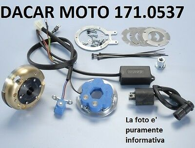 171.0537 Accensione Polini Piaggio  Nrg-Ntt-Mc2 - Quartz - Zip 50 Sp H2O