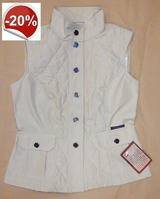 KOALA Gilet antivento equitazione donna MADE in ITALY beige