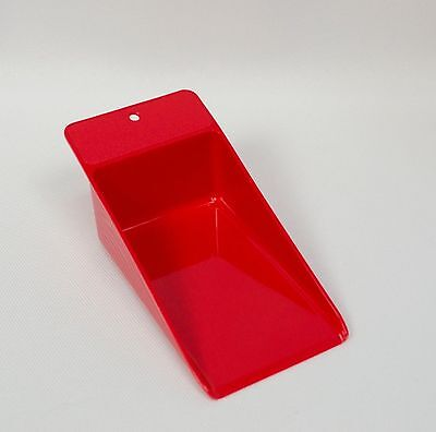 Tupperware Red Canister Scoop #1452 Sugar Flour Soap Canister Kitchen Gadgets