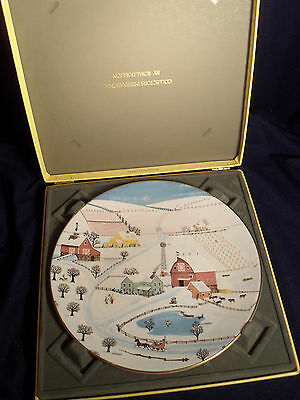Royal Doulton Sleigh Bells Plate From 1977 - Old But New