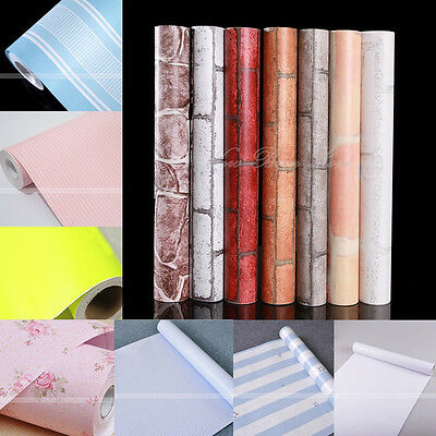 45cmx10m Self-adhesive Contact Paper Wallpaper Home Wall Decor Sticker