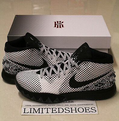 newest ae12e 18559 NIKE KYRIE 1 ONE BHM BLACK HISTORY MONTH 718820-100 all star easter id duke