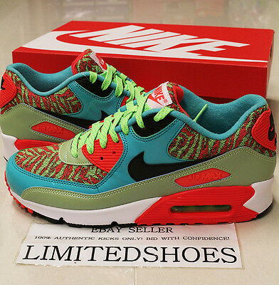 42959c577ff398 NIKE AIR MAX 90 25TH ANNIVERSARY FLASH LIME 725235-306 US 8 ~ 9.5 cork