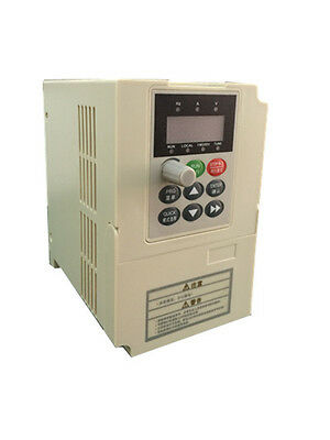 0.75kw 1HP 300hz VFD inverter frequency converter 1PH 220VAC to 3ph 220V 4A
