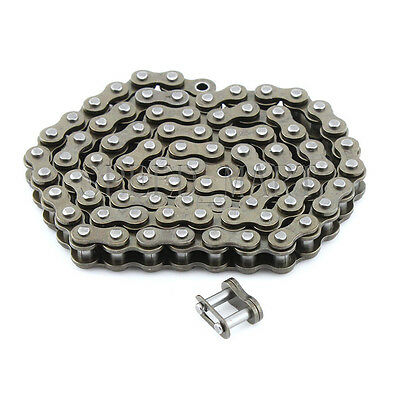 "0.5M 04C Chain 6.35mm Pitch with Chain Connector for metal 1/2"" 04C sprocket"