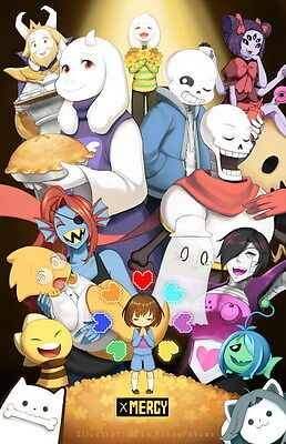 "YX01431 Undertale - Role-Playing Video Game 14""x22"" Poster"