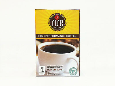 Zrii Rise High Performance Coffee Colombian Arabica Coffee Green Bean Coffee 10x