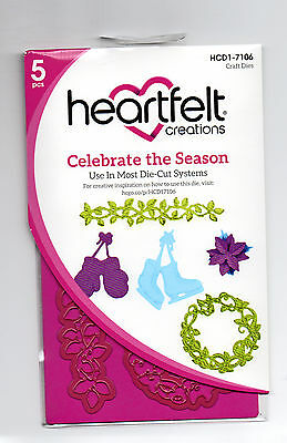 Heartfelt Creations Celebrate The Season Die for Cardmaking,Scrapbooking, etc