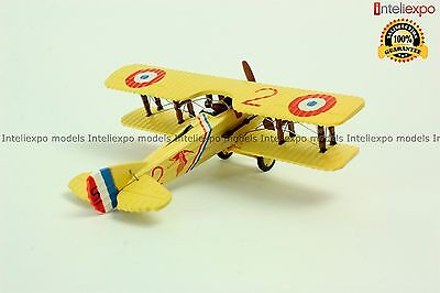 SPAD S.VIIC.1-1916 French Fighter Aircraft WWI Military Model Diecast 1/72 No4