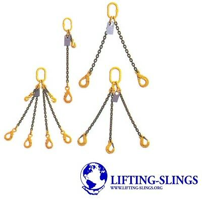 Economy Lifting Chain Sling - 7mm 10mm 13mm  - 1 2 4 Leg Shortners