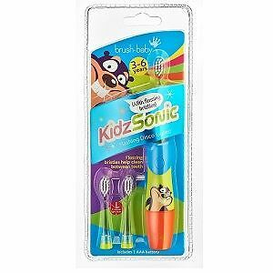 Brush-Baby KidzSonic Electric Toothbrush 3-6 years