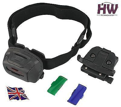 Airsoft Princeton Tec Style Quad Tactical Mlps Headlamp Light Torch Black