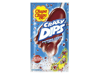 Chupa Chups Crazy Dip Flavors Like Strawberry & Cola